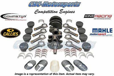 GM LS 5.7L LS1 383 Stroker Callies Rotating Assembly Kit Balanced 8.7:1 Pistons