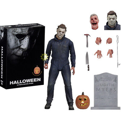"NECA Halloween (2018 Movie) - 7"" Scale Figure - Ultimate Michael Myers Brithday"