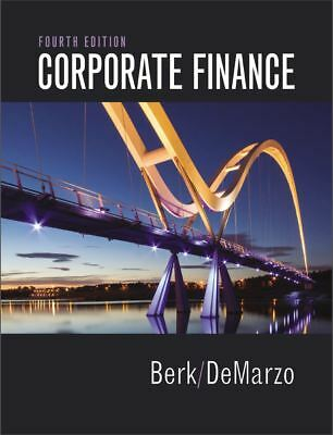 EB00K-Corporate Finance by Jonathan Berk and Peter DeMarzo 2017 4th Edition
