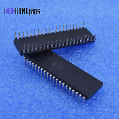 1/5PCS AT89C55WD-24PU DIP-40 8-bit Microcontroller with 20K Bytes Flash IC