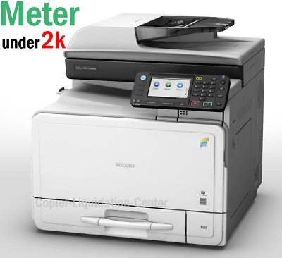 Ricoh MP C305 SPF Color Copier Scan Prin Speed 31 ppm LOW METER ,