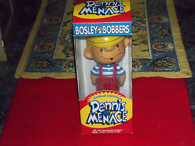 "dennis the menace ""LIMITED EDITION "" FROM BOSLEY BOBBERS BOBBLEHEAD IN PACKAGE"