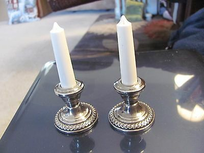 LaPierre sterling salt and pepper shakers