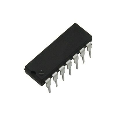 6x SN74AHCT125N IC digital 3-state bus buffer Channels4 DIP14 TEXAS INSTRUMENTS
