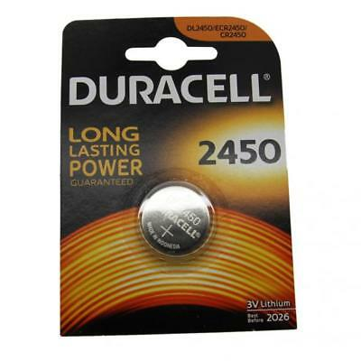 50x Duracell CR2450 3V Lithium Button Battery Coin Cell DL/CR/ECR 2450 Exp. 2026