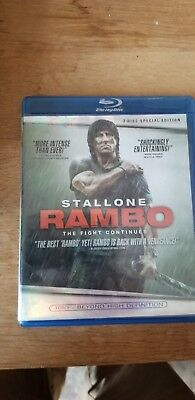 Rambo The Fight Continues Blu-ray Disc 2008, 2-Disc Set Canadian Stallone