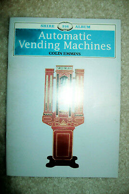 Automatic Vending Machines  Book by Colin Emmins   Free Shipping