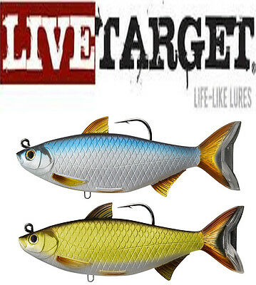 Live Target Swimbait YPS134MS713 Yellow Perch Orange Gold Olive Green 5.5 Inch