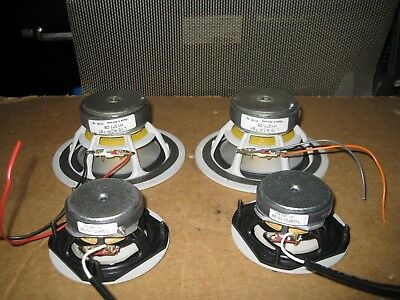 4- SEAS PRESTIGE L15RC/P AND Tymphany TG9FD-10-08 SPEAKERS SET