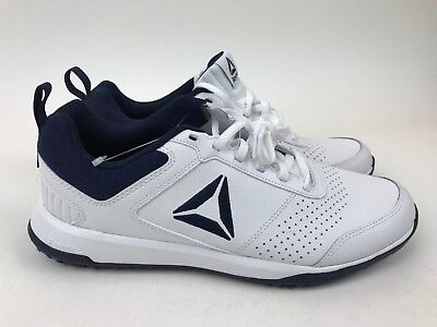 4583173c3b5313 NEW no box REEBOK white leather lace up Shoes 9 CXT Trainer Athletic CN4546