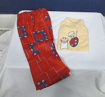 Boys Vintage 3T Health-tex Sweater and Pants NOS