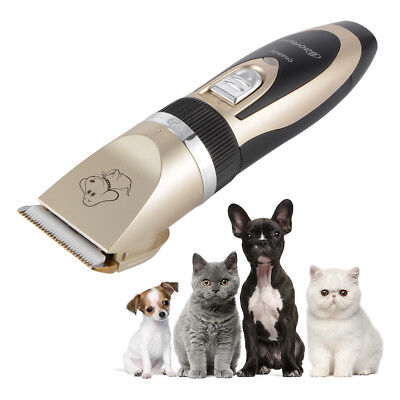 Low-noise Electric Animal Pet Dog Cat Hair Cordless Grooming Clipper Kit OS886