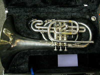 Yamaha YMP-204M Series Silver Marching F Mellophone