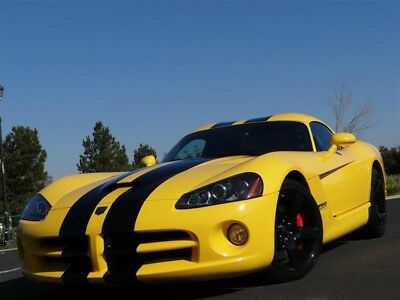 2006 Dodge Viper Supercharged Viper SRT-10 2006 Dodge Viper SRT-10 Bumblebee Coupe Paxton Supercharged 750HP Amazing Car!