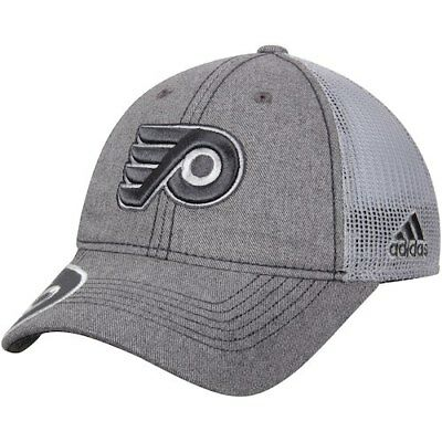 adidas Philadelphia Flyers Gray Travel   Training Slouch Adjustable Hat e64814e5b7cd