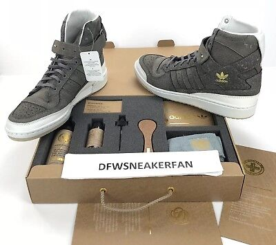 908387cf9a0 Adidas Forum HI Crafted Pack Men s Size 9 Shoes   Cleaning KIT BW1253 NEW