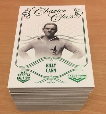 2018 Nrl Glory BASE & CHARTER CLASS Full Sets - Official Album & 33 x 9 Pages