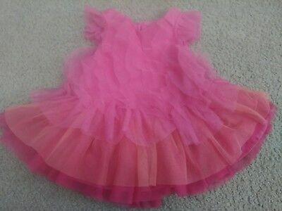 NWT Baby Girls THE CHILDRENS PLACE Tri Color Pink Easter Dress 3-6 Mos $29+ NEW