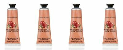 Crabtree & Evelyn Hand Therapy 4 x 25g = 100g POMEGRANATE ARGAN & GRAPESEED New