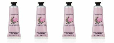 Crabtree & Evelyn Hand Therapy - 4 x 25g = 100g ROSEWATER - Brand New LAST STOCK