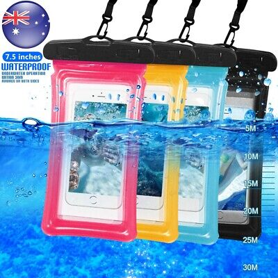 Universal Floating Waterproof Phone Case Pouch Dry Bag for Samsung S9+ S8+ S7 S6
