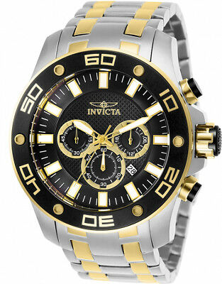 Invicta Men's Pro Diver Quartz Chrono 100m Two-Tone Stainless Steel Watch 26081