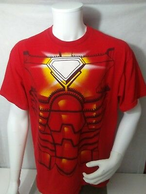 Iron Man Costume Suit Age Of Ultron Marvel Comics Licensed Adult T Shirt XL