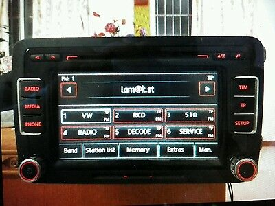 VW RADIO CODE Unlock and Decode Fast Service RNS 310 315