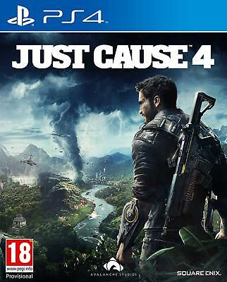 Just Cause 4 (PS4) BRAND NEW SEALED PLAYSTATION 4 ACTION