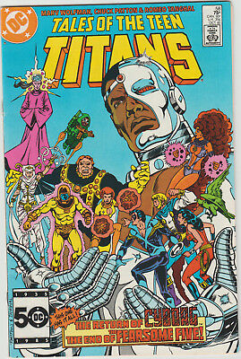 Tales of the Teen Titans #58 DC Comics FN/VF First Print FREE SHIPPING