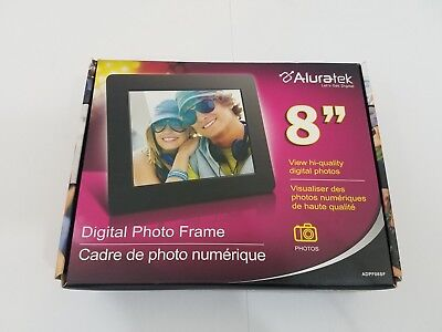 "Electronic Picture Frame Digital  8"" 800x600 LCD TFT USB SDHC Memory Support"