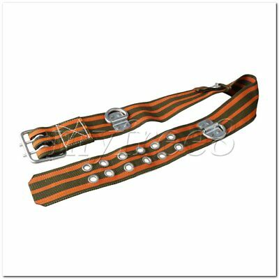 Climbing Harness Outdoor Belts Work Adjustable Safety Belt 77mm Width Belt