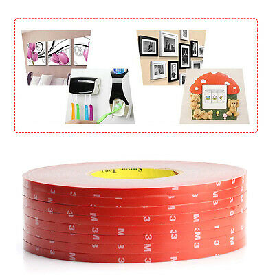 2*3M VHB #5952 Double-sided Acrylic Foam Adhesive Tape Automotive 3 Meters Long