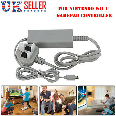 Power Supply AC Adapter Wall Charger for Nintendo Wii U Gamepad Controller UK