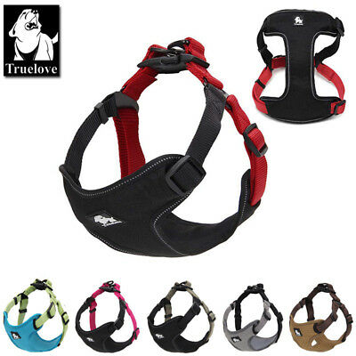 Truelove Dog Puppy Harness Adjustable 3M Reflective Padded for Large Small Pets