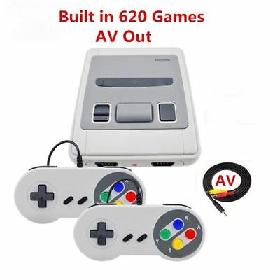 Retro Mini TV 8 Bit Video Game Console Built-in 620 Gaming Player For Kids