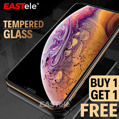 2x EASTele Apple iPhone 11 Pro XS Max XR 8 Plus Tempered Glass Screen Protector