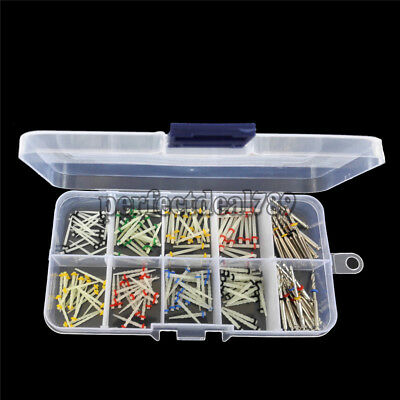 HOT! 160pcs Dental Glass Fiber Post Single Refilled Package & 32pcs Drills PD
