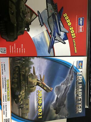 HobbyBoss and Trumpeter 2019-2020 CATALOGUE Newest Models Books