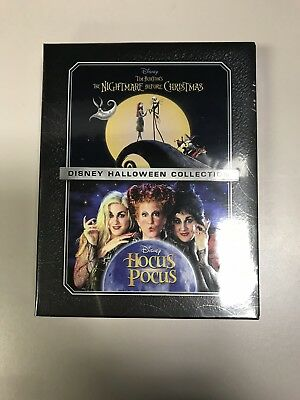 Hocus Pocus Disney Halloween Collection Blu-Ray DVD Set