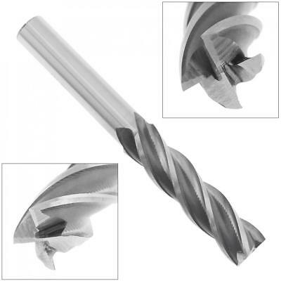 14mm HSS&End Mill Cutter w/ Extra Long Straight Shank for CNC Mold Processing