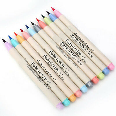10Colors Watercolor Drawing Painting Brush Artist Sketch Manga Marker Pen Hot