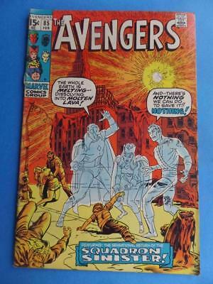 Avengers 85 1971 Classic Squadron Sinister! Vg/f