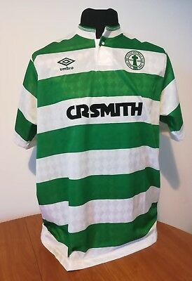 Maglia Shirt Celtic Glasgow 87/89 centenary football no remake size L perfect