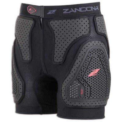 Zandona Esatech Pro Protector Shorts S Black Motorcycle Armoured Shield Trousers