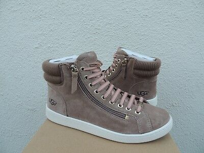 f04897572a9 UGG WOMEN'S OLIVE Fawn High Top Sneakers Soft Suede Size 7 - $89.00 ...