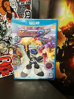 Mighty no. 9  ⚠️ Ray Edition ⚠️ Wii U NINTENDO  / Fr . Neuf blister / artbook in