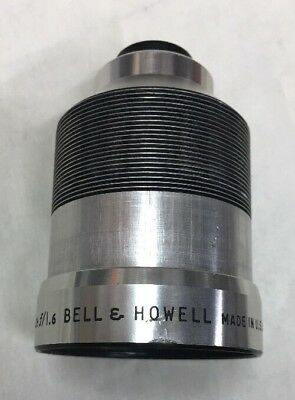 "Bell & Howell 16MM Projection Lens 2"" Inch f/1.6 *RECONDITIONED"