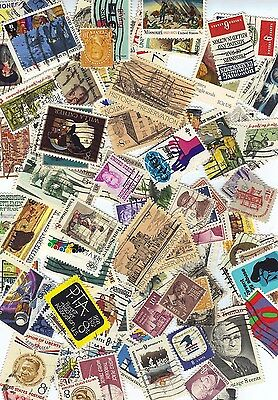 Old Hoard of used US postage stamp lots 6, 7, 8, 9, 10 cents items free shipping
