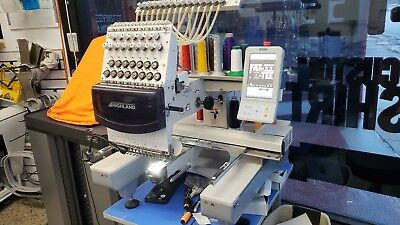 Highland 1501C 2015 embroidery machine 15 needle commercial With ALL hoops